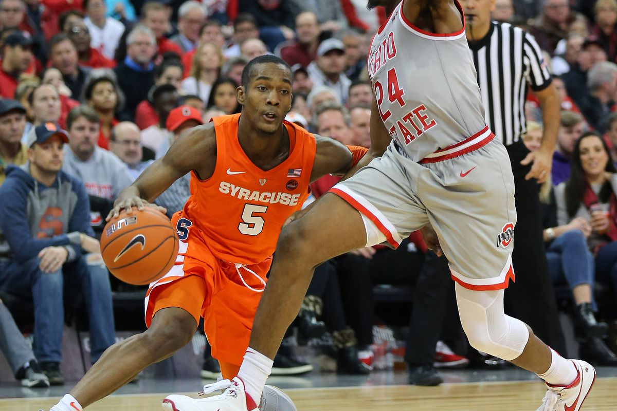 Syracuse Wins First Road Game Vs Non Conference Ranked Team Since