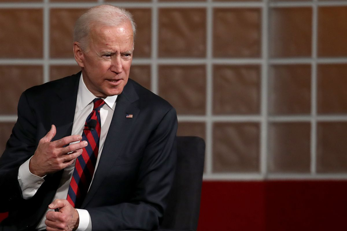 2020 Election Joe Biden Responds To Allegations Of Touching Vox