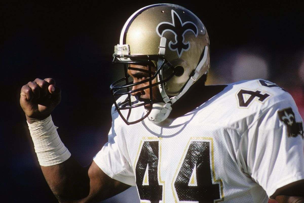 Countdown to New Orleans Saints Kickoff  A History of No. 44 - Canal ... 98373f685