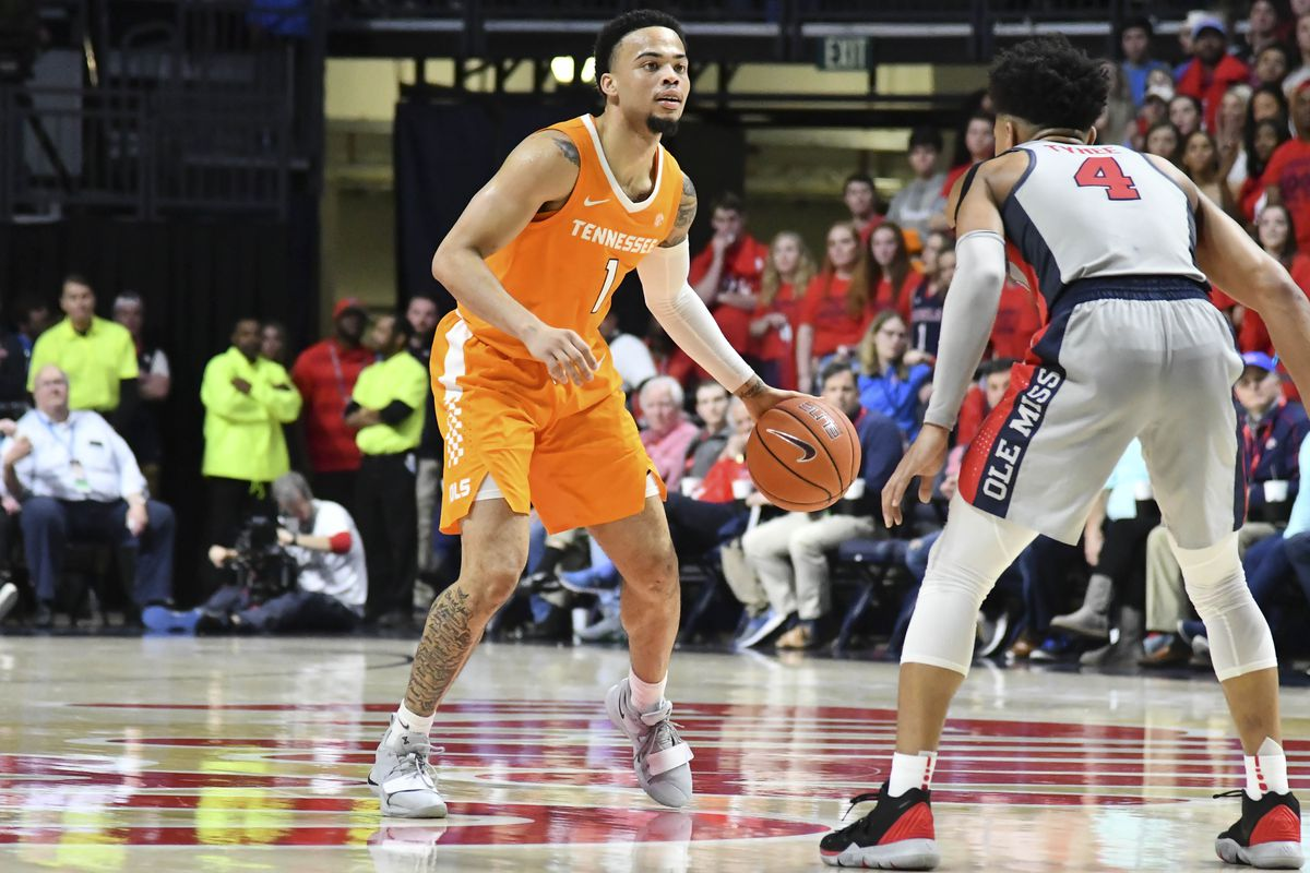 NCAA Basketball: Tennessee at Mississippi