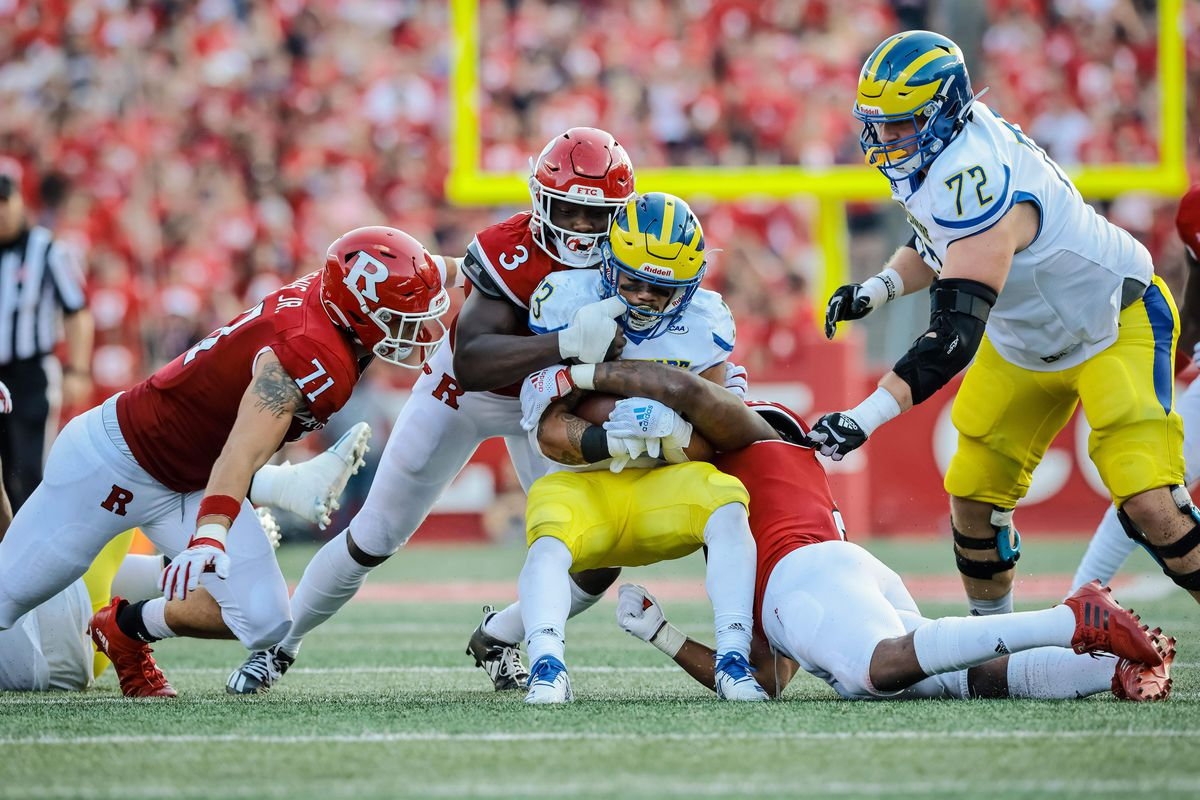 NCAA Football: Delaware at Rutgers