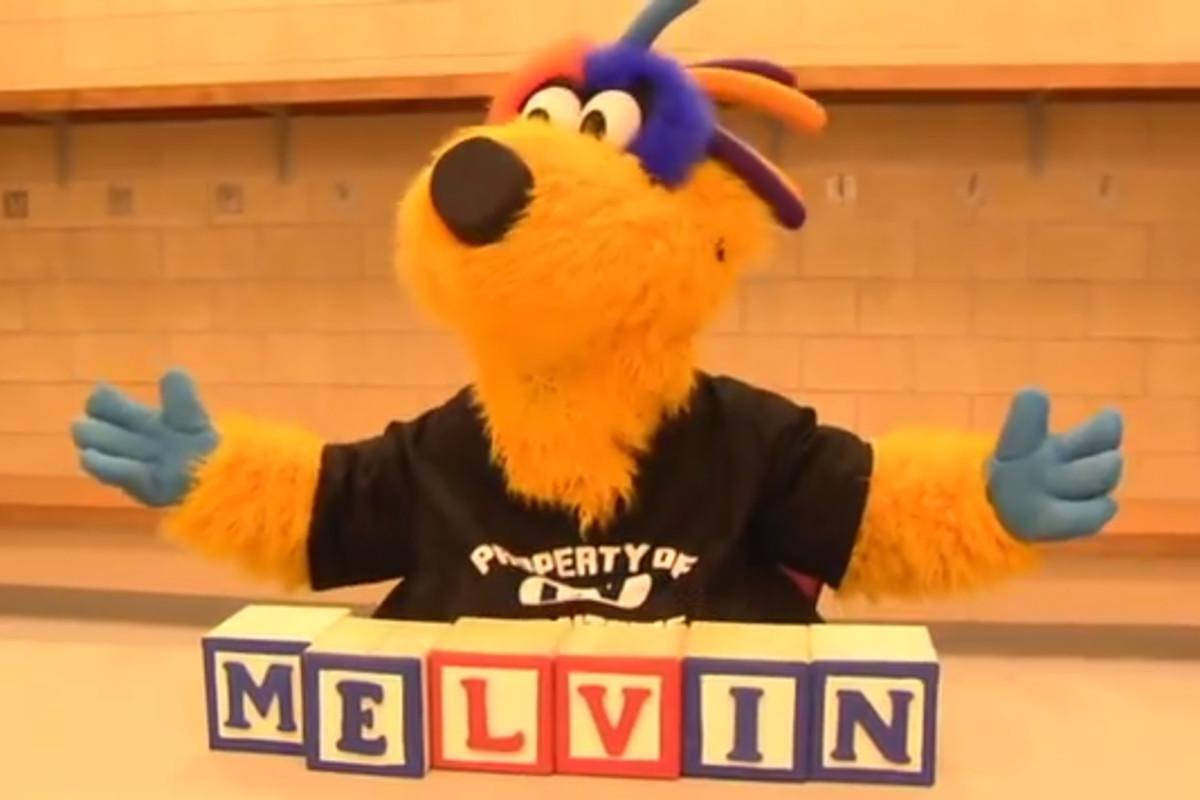 cf65ffb5 The Lehigh Valley Phantoms new mascot is named Melvin - Broad Street ...