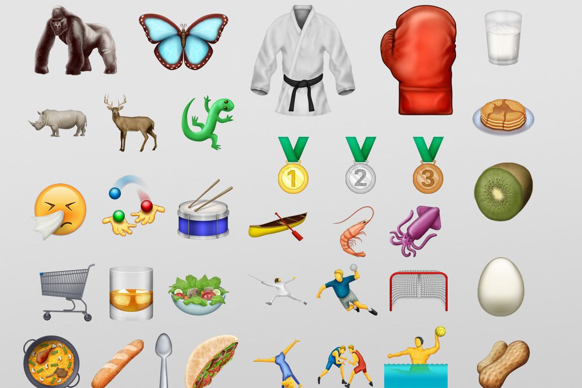 New Emoji Update Includes Bacon Pancakes Croissants And More Eater