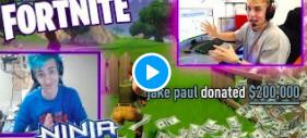 Jake Paul Fortnite