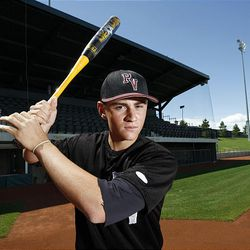 Pine View's Marcus Littlewood, 2009 Deseret News Mr. Baseball, Tuesday in Kearns.
