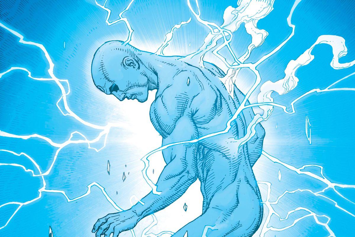 Doctor Manhattan in Doomsday Clock #7, DC Comics (2018).