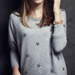 """Starshower pullover, <a href=""""http://www.anthropologie.com/anthro/product/clothes-sweaters/30688592.jsp?cm_sp=Fluid-_-30688592-_-Large_4"""">Anthropologie</a>, $148"""