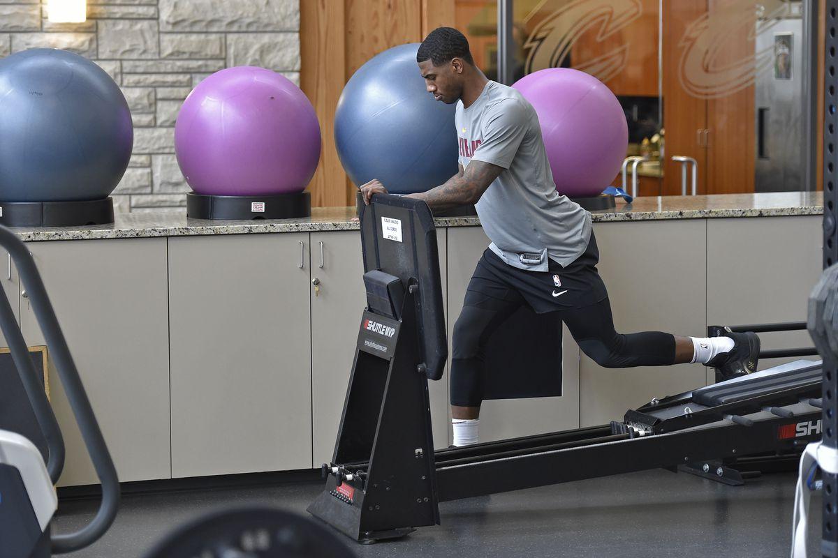 Cleveland Cavaliers Practice