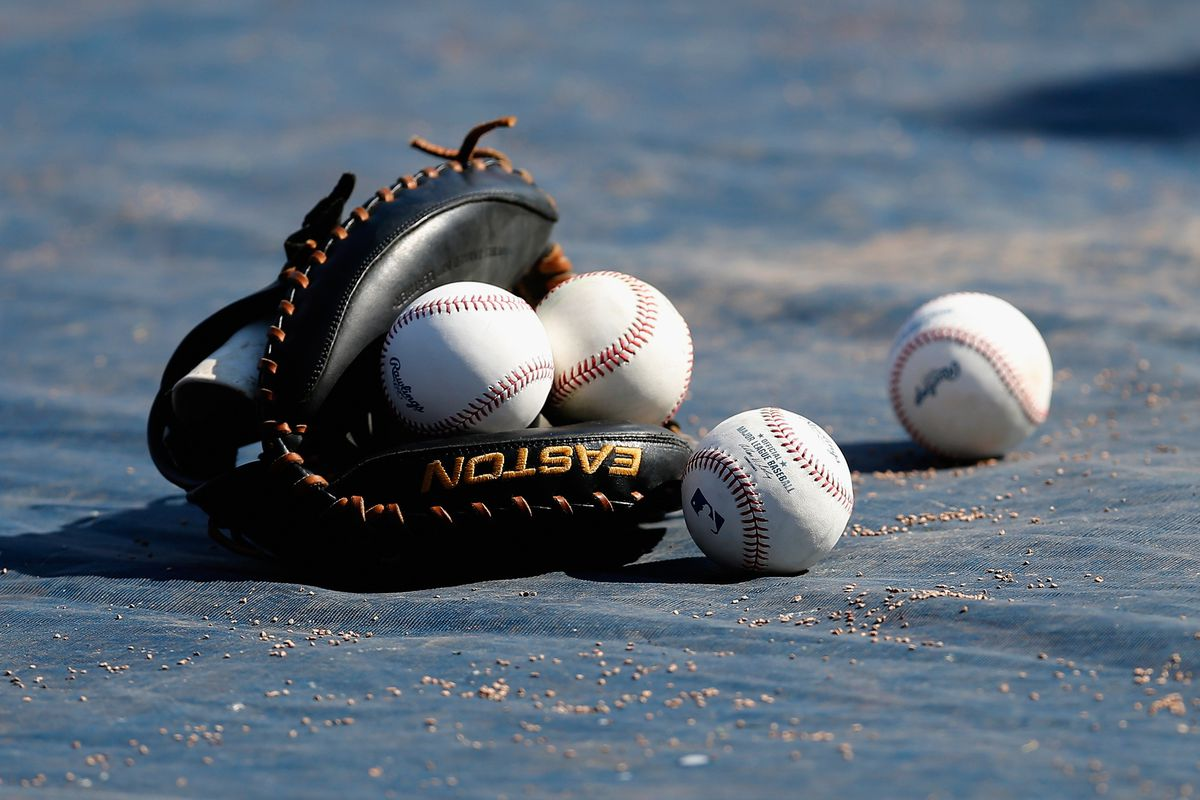 This is the baseballs (and a catcher's mitt)