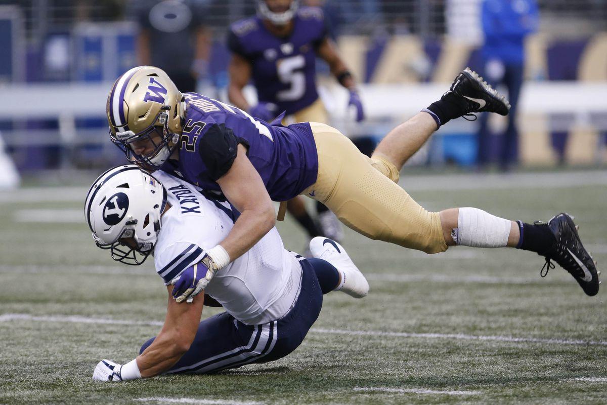 NCAA Football: Brigham Young at Washington