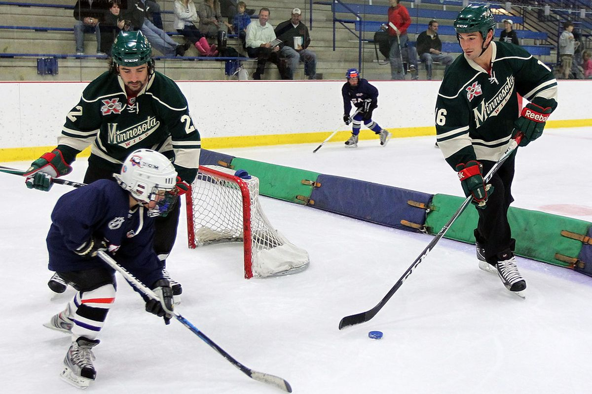 Developing the future is important. Cal Clutterbuck and Brad Staubitz have started early.