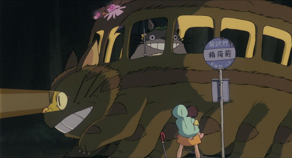 Totoro Cat Bus, Spirited train, and Ghibli's travel obsession, explained 1