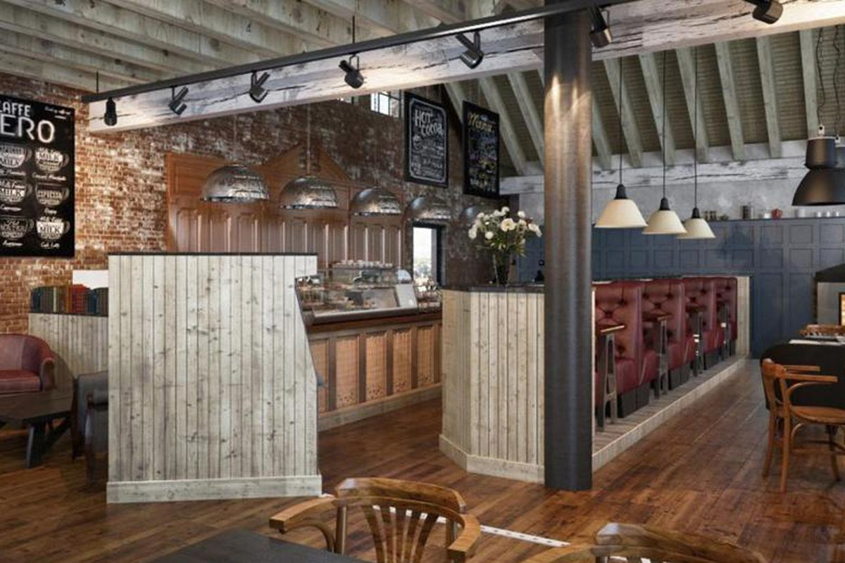 Caffe Nero S New Wellesley Cafe Is Now Open Eater Boston