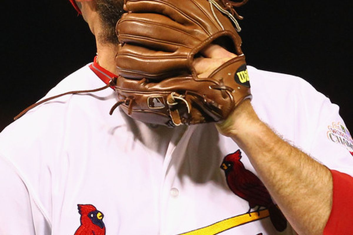 Sometimes you eat the glove; sometimes the glove eats you.