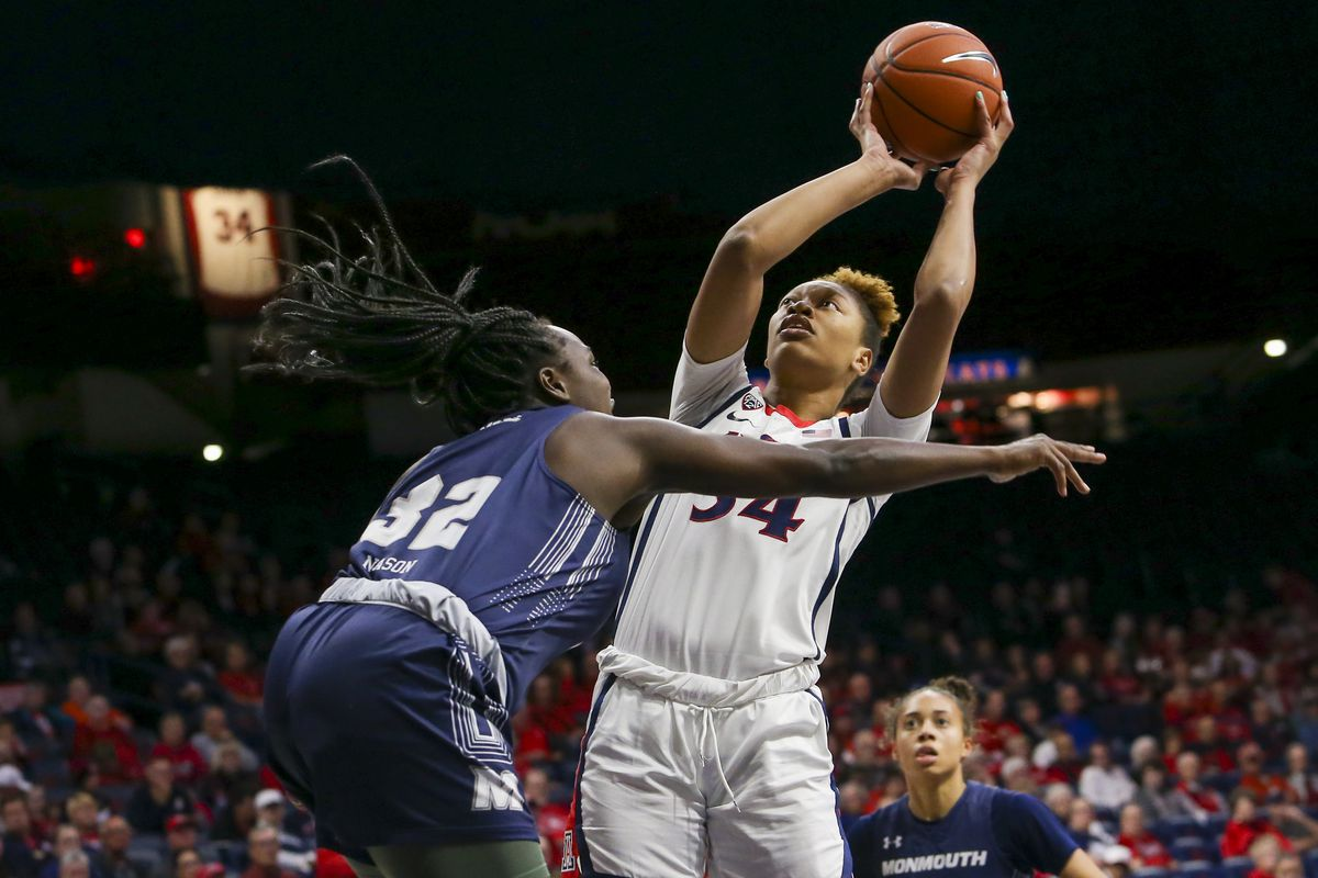 COLLEGE BASKETBALL: DEC 02 Women's Monmouth at Arizona