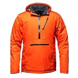 """<strong>Aether</strong> Anorak in Lava, <a href=""""http://www.aetherapparel.com/shop/mens/insulated/anorak/"""">$325</a>"""