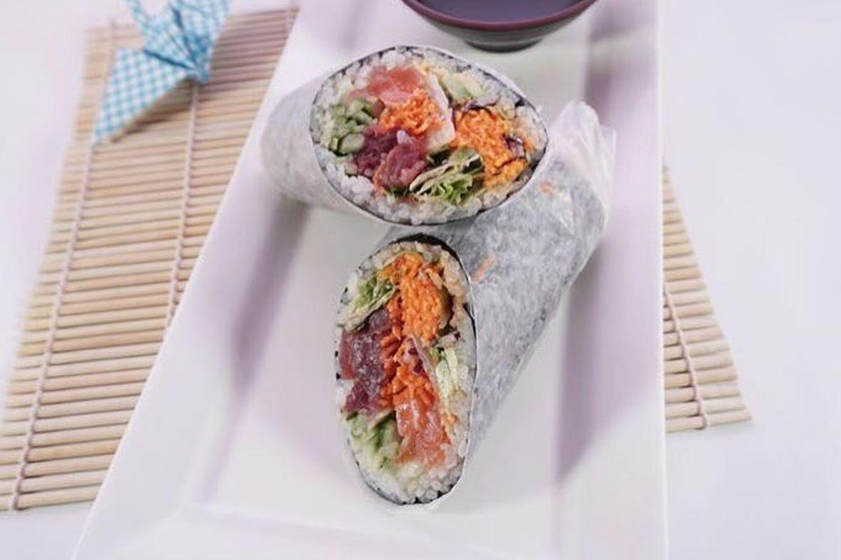 Sushi Kappo sushi burrito