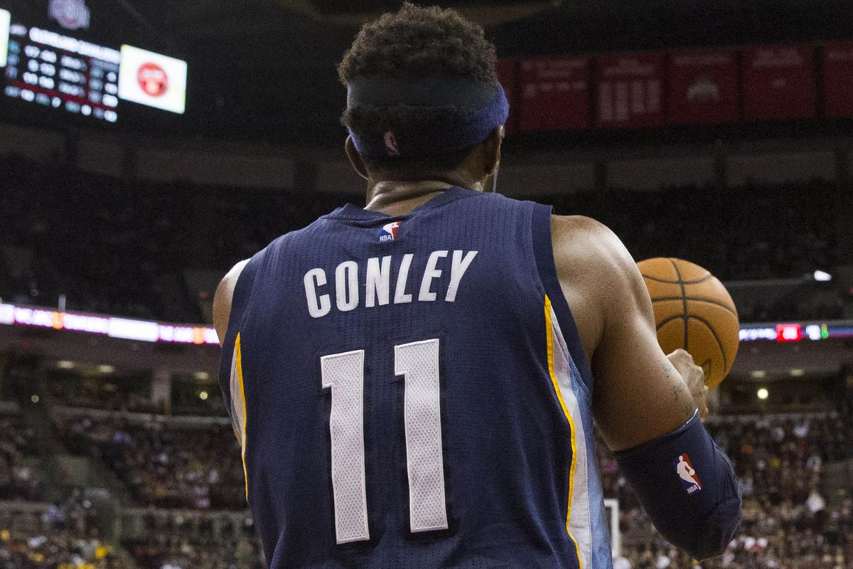 Conley's future teammates and role in the Grizzlies past is a focus of this week's Friday Three