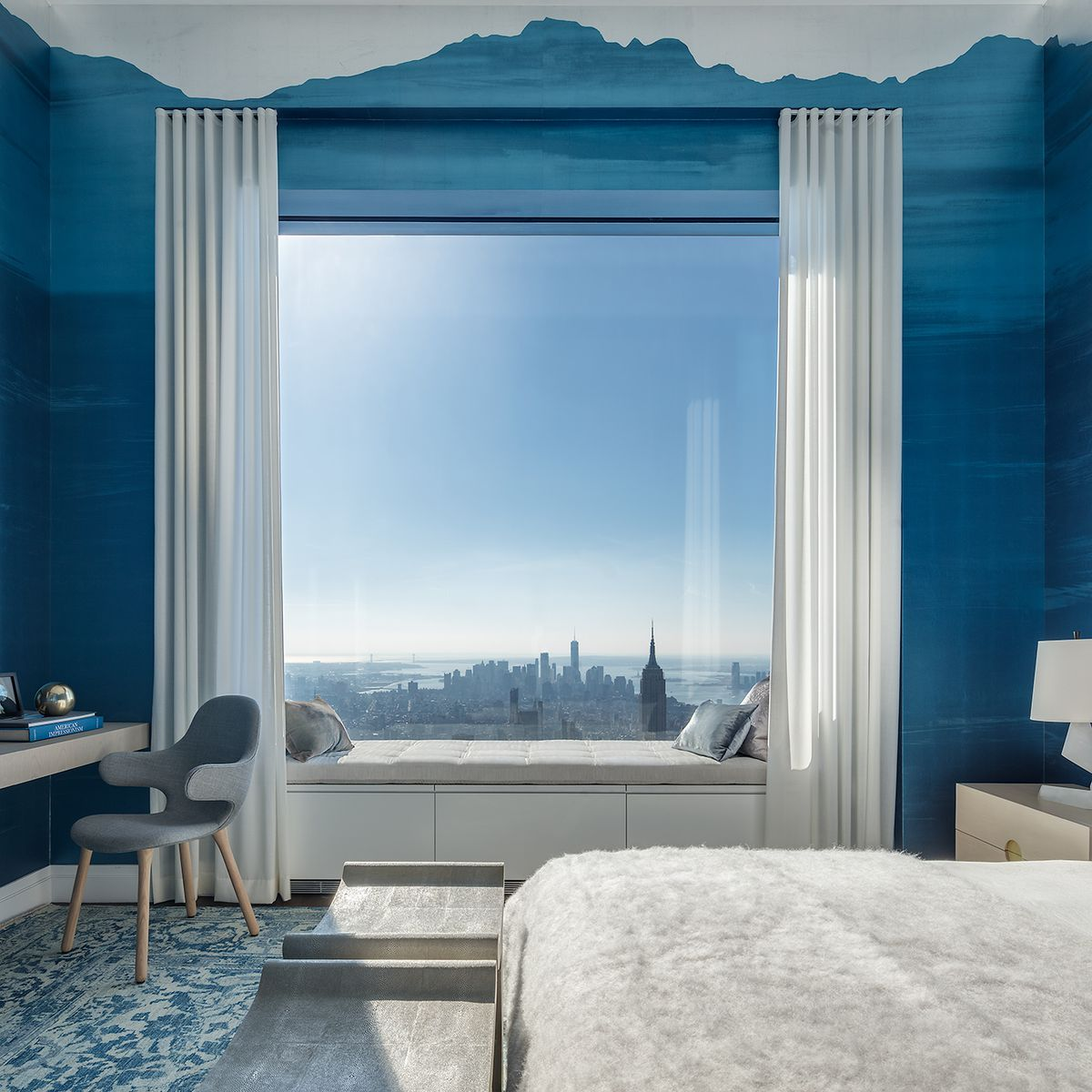Apartments In Manhatten: Peek Inside 432 Park Avenue's $40M, 92nd-floor Penthouse
