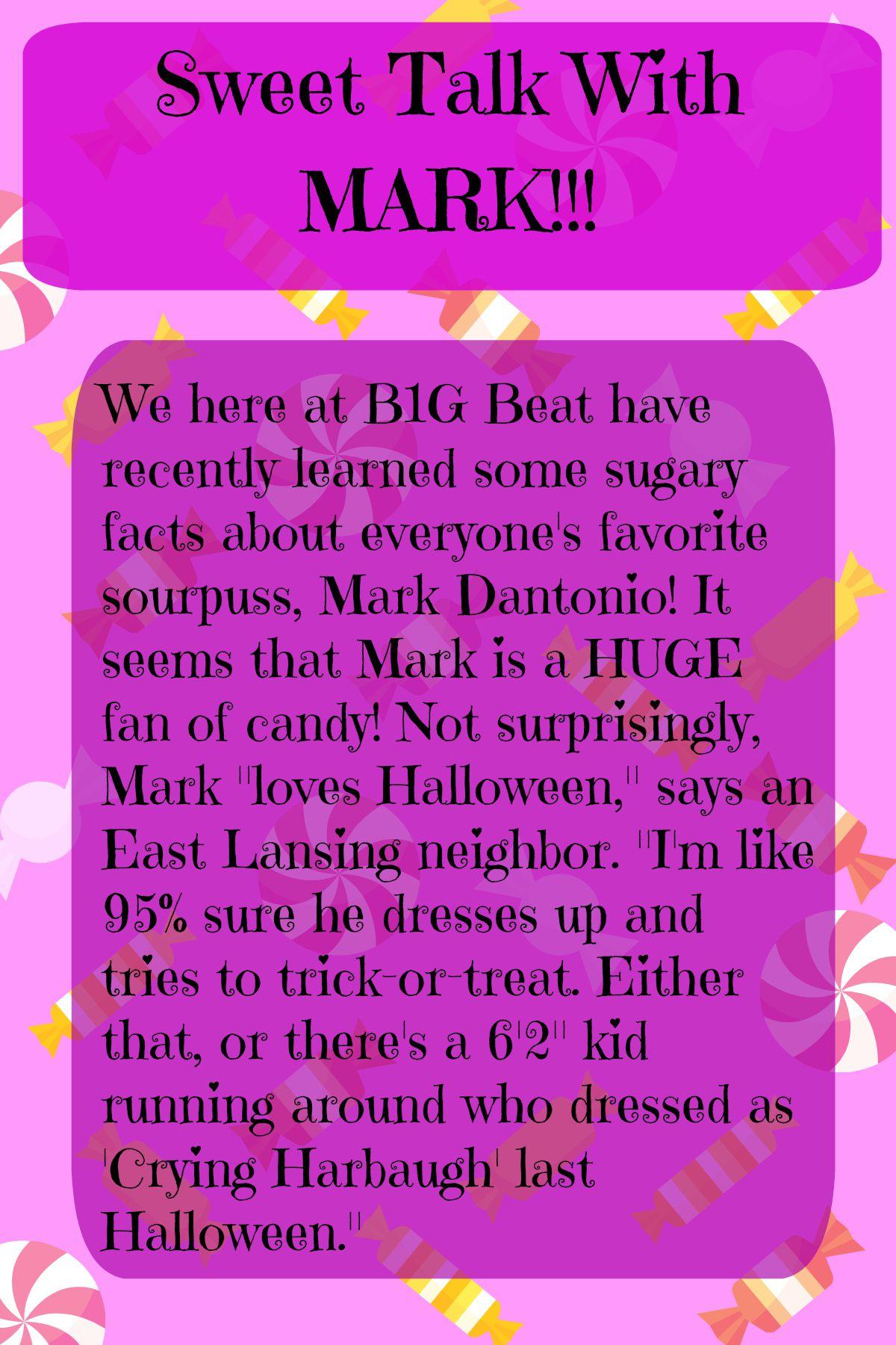 Sweet Talk with Mark
