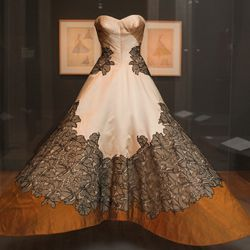 The famous Charles James Clover Leaf ball gown