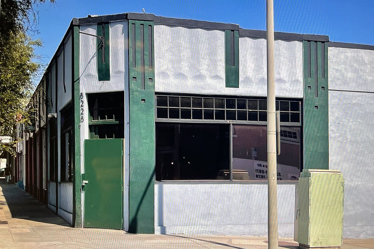 Future site of Bar Or in West Hollywood