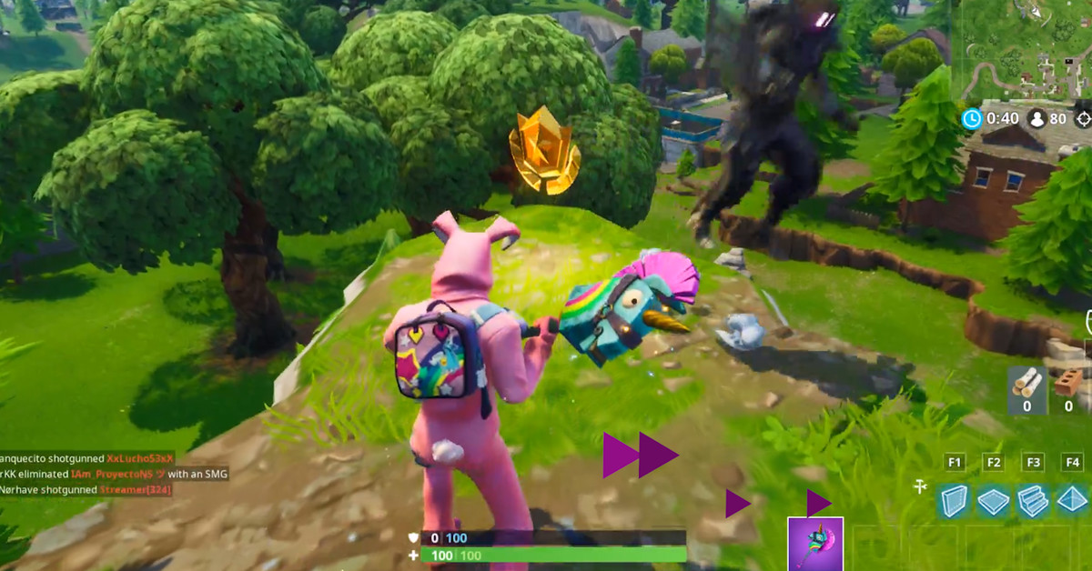 follow the treasure map found in shifty shafts fortnite season 5 challenge location guide polygon - fortnite week 9 challenges map reddit