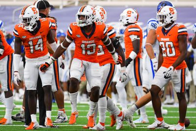 NCAA Football: Duke at Syracuse