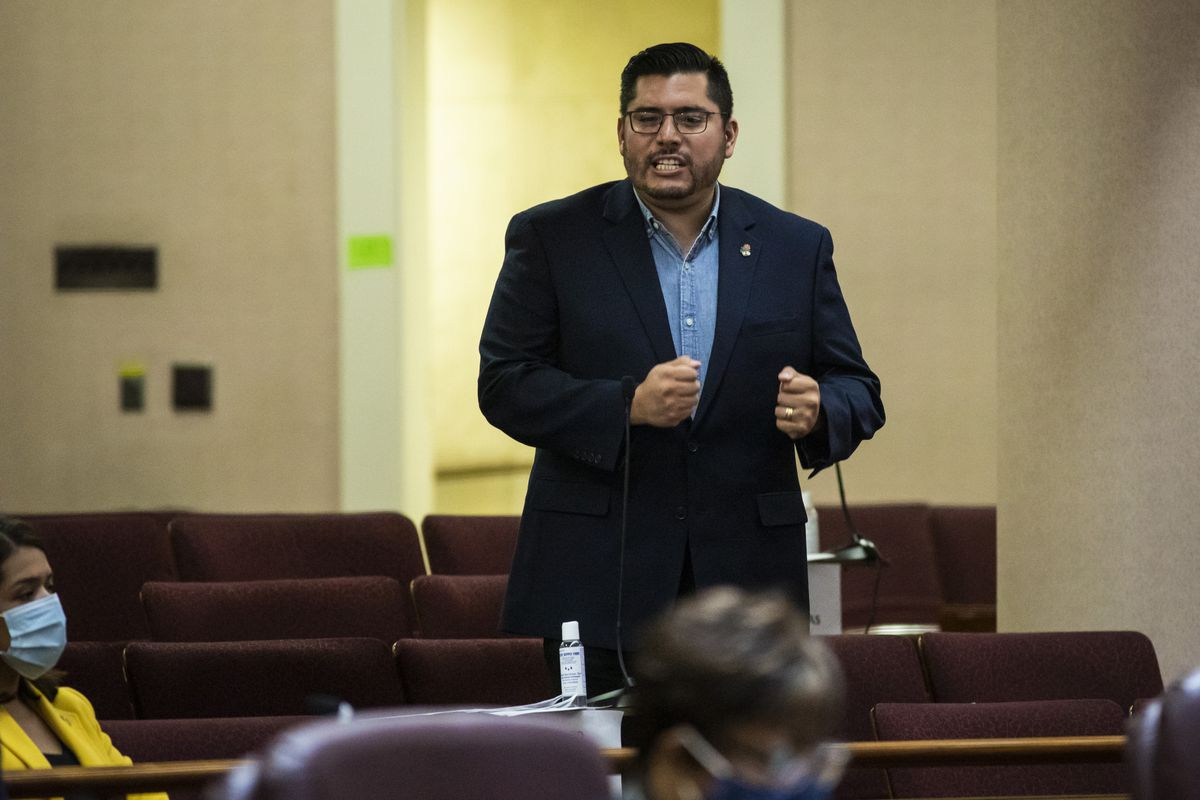 At the Wednesday, July 21, 2021 Chicago City Council Meeting, Ald. Carlos Ramirez-Rosa spoke in favor of a compromise measure establishing some civilian oversight of the Chicago Police Department.