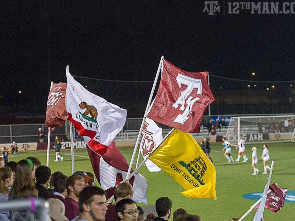 Aggie Soccer Plays Notre Dame in the Sweet 16 - Good Bull