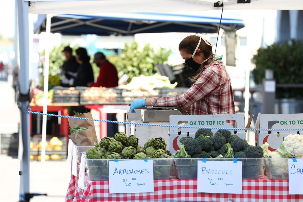 Farmers Markets Offer Safe Havens For Shoppers During COVID-19 Pandemic