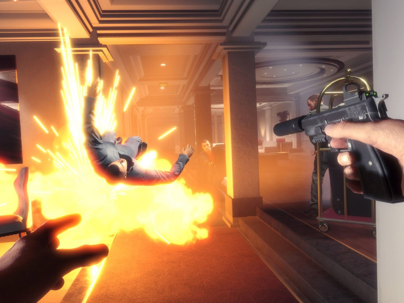 fabe2953253e Blood and Truth is an explosive action game for PlayStation VR - Polygon
