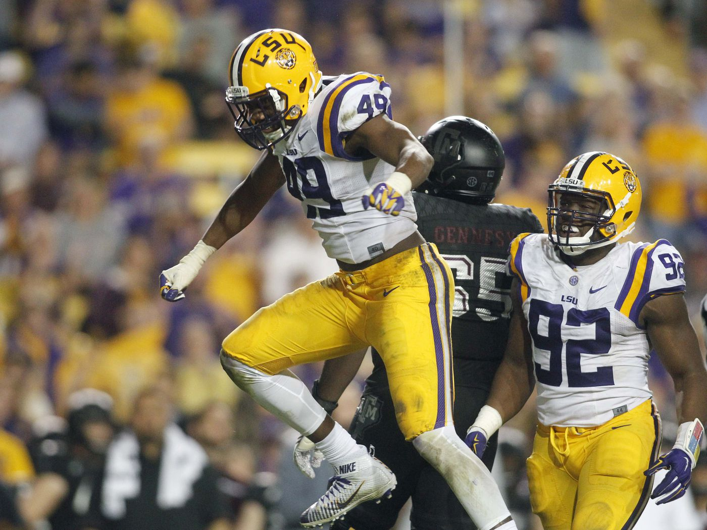 Arden Key Returns To Lsu Football After Shoulder Surgery And The Valley Shook