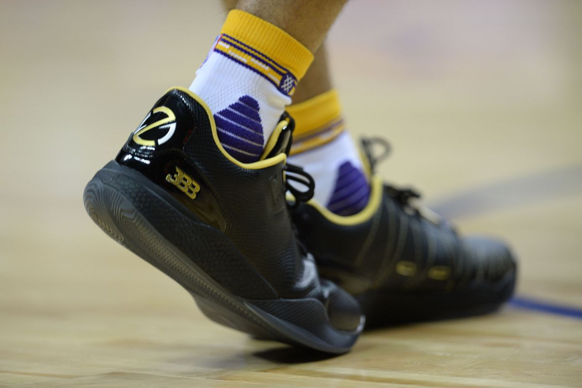 9c0a7bd78ace Lonzo Ball hints there is a master plan behind the shoes he s wearing at  Summer League