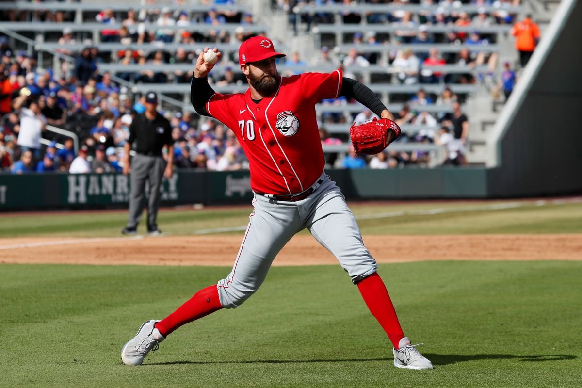 MLB: MAR 07 Spring Training - Reds at Cubs (ss)