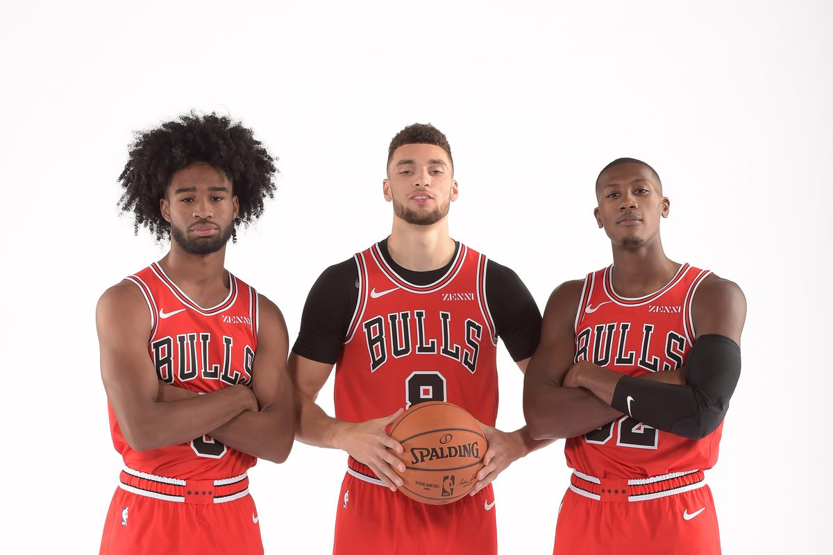 Image result for chicago bulls 2019-20""