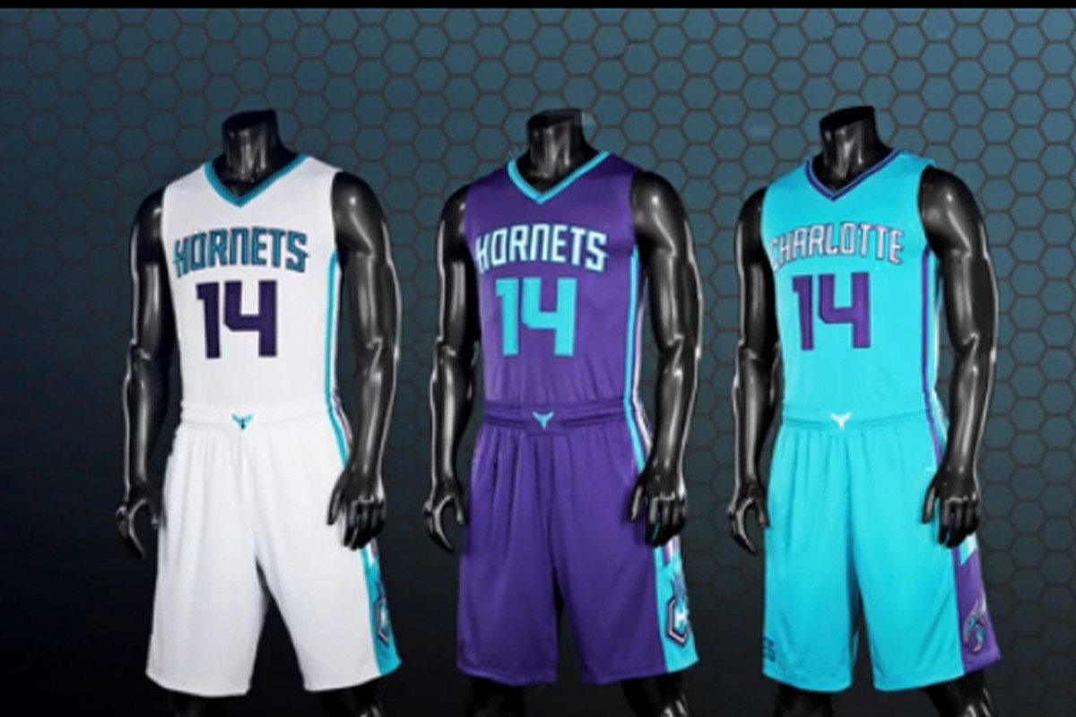 Here are the new Charlotte Hornets uniforms - SBNation.com 90b0915bd