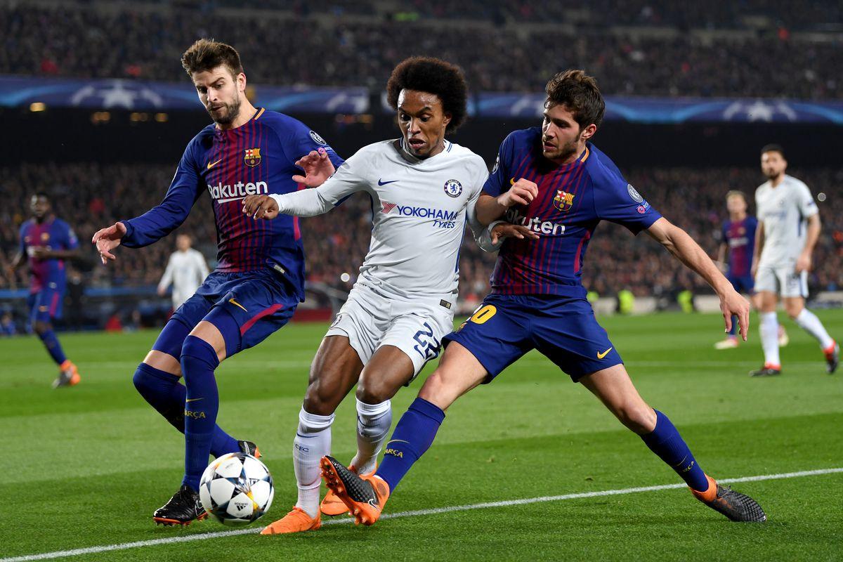 Champions League  FC Barcelona schlägt FC Chelsea dank Lionel Messi ... d9e9ead0b96