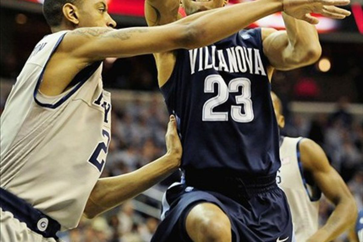 Dom Cheek's 19 points weren't nearly enough as Georgetown broke the game open in the second half to down the Wildcats.