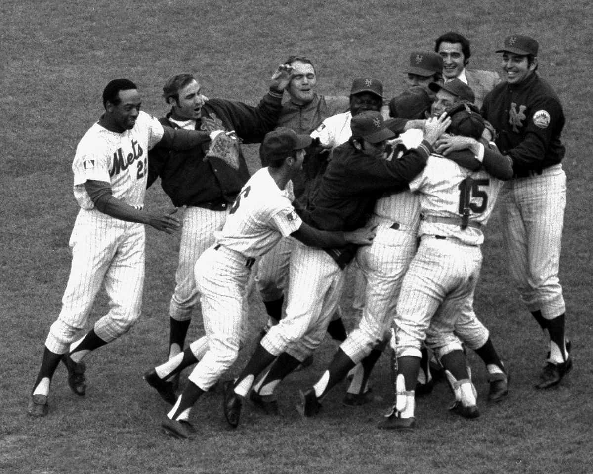 N.Y. Mets contre Orioles de Baltimore. 1969 World Series., Mets 'c
