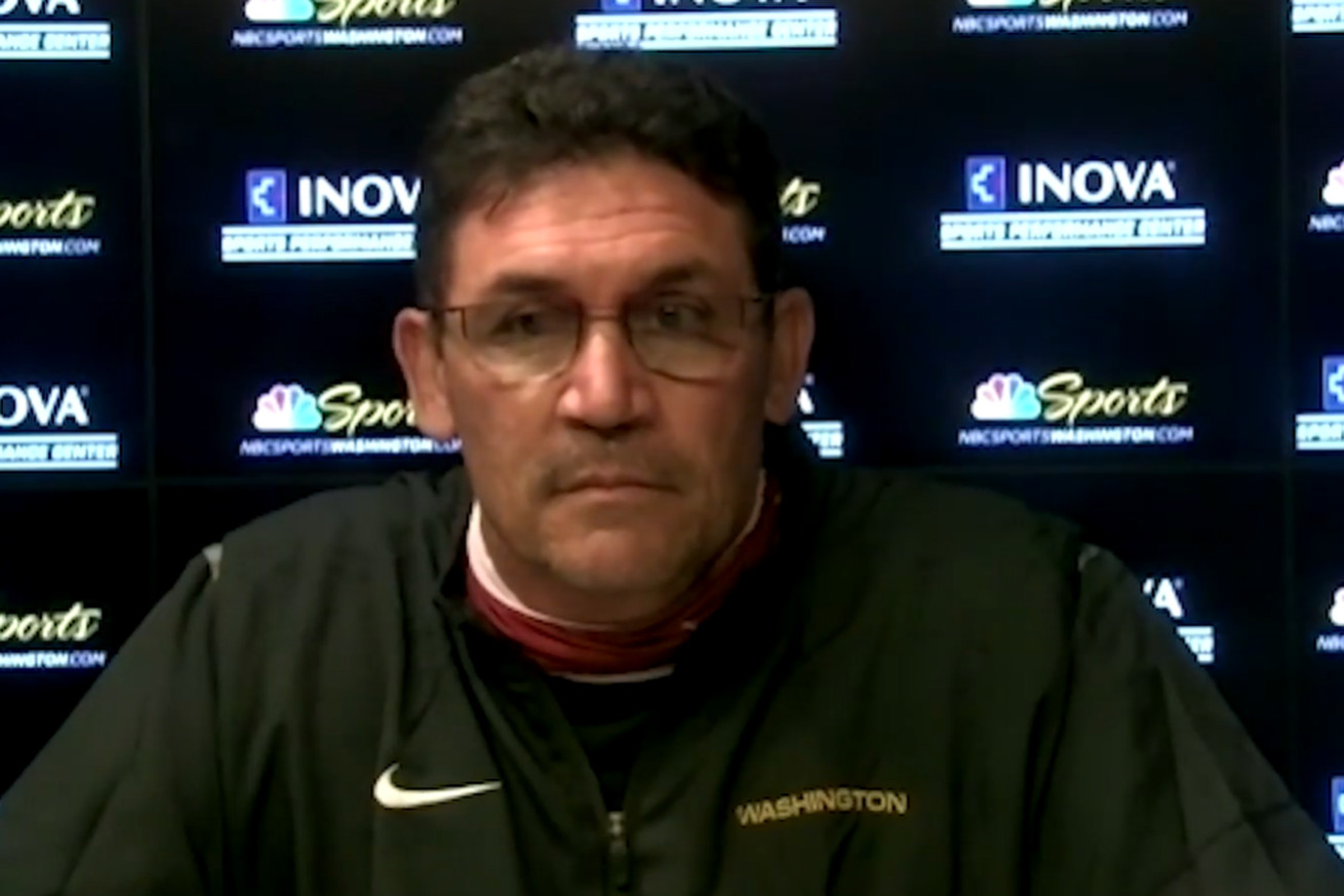 Ron Rivera Presser: Learned the importance of position flexibility as a coordinator