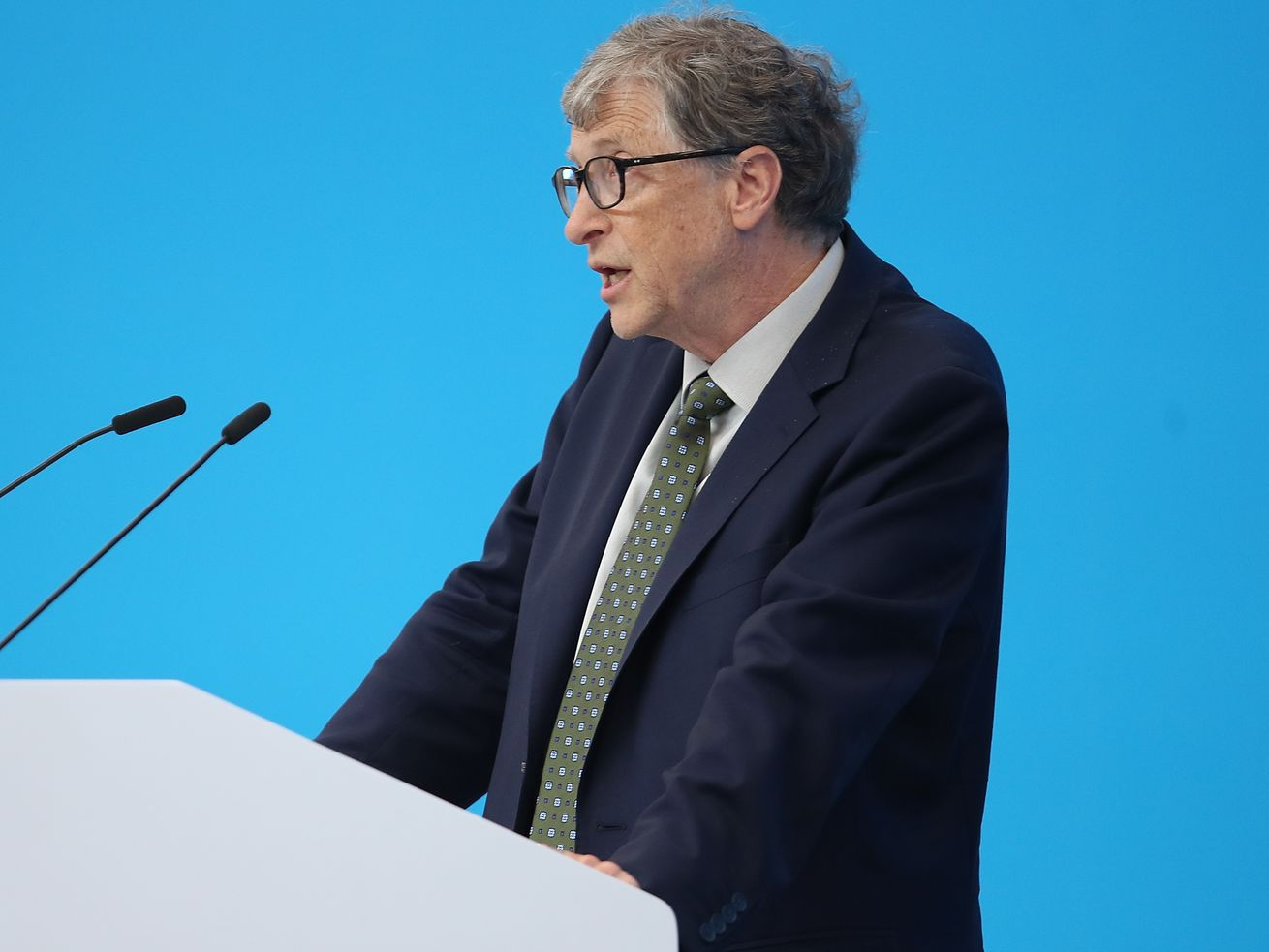Bill Gates at a forum in Shanghai, China, in 2018.