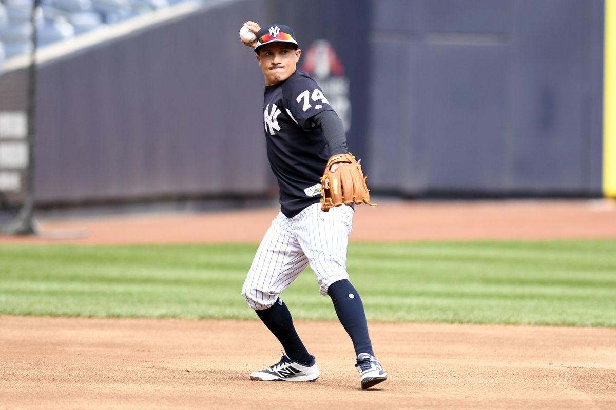 MLB: AL Wild Card-New York Yankees Workout