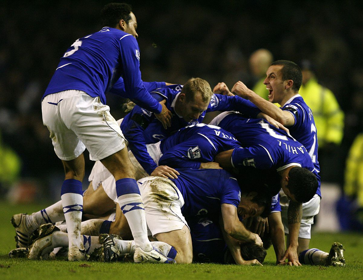 Soccer - FA Cup - Fourth Round Replay - Everton v Liverpool - Goodison Park
