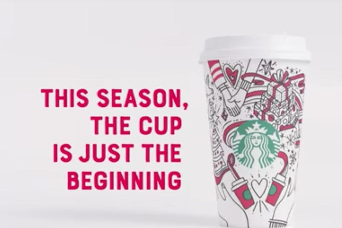 Starbucks released its new holiday cup this week, and hopes that it will spread messages of unity across the country.