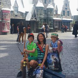 In the heart of Hogsmeade
