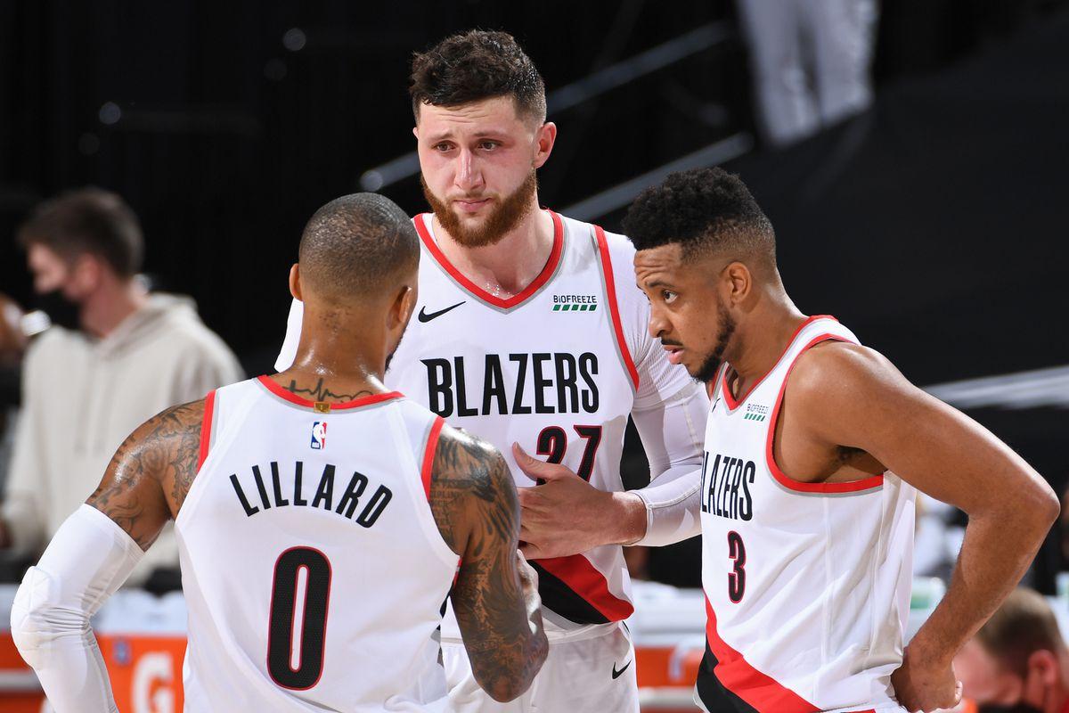 2021 NBA Playoffs - Denver Nuggets v Portland Trail Blazers