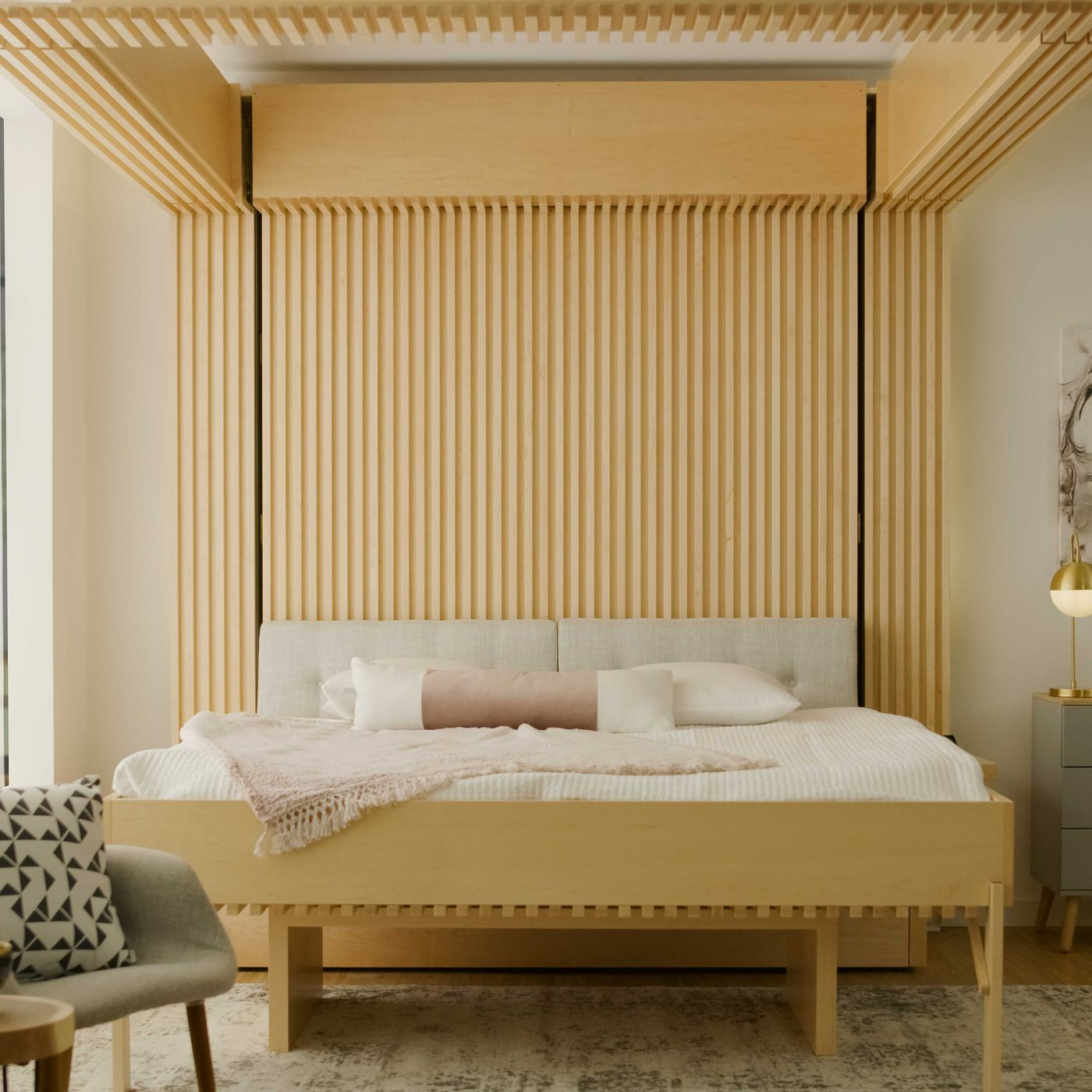curbed.com - Liz Stinson - Ori's new robotic furniture includes a bed that drops from the ceiling