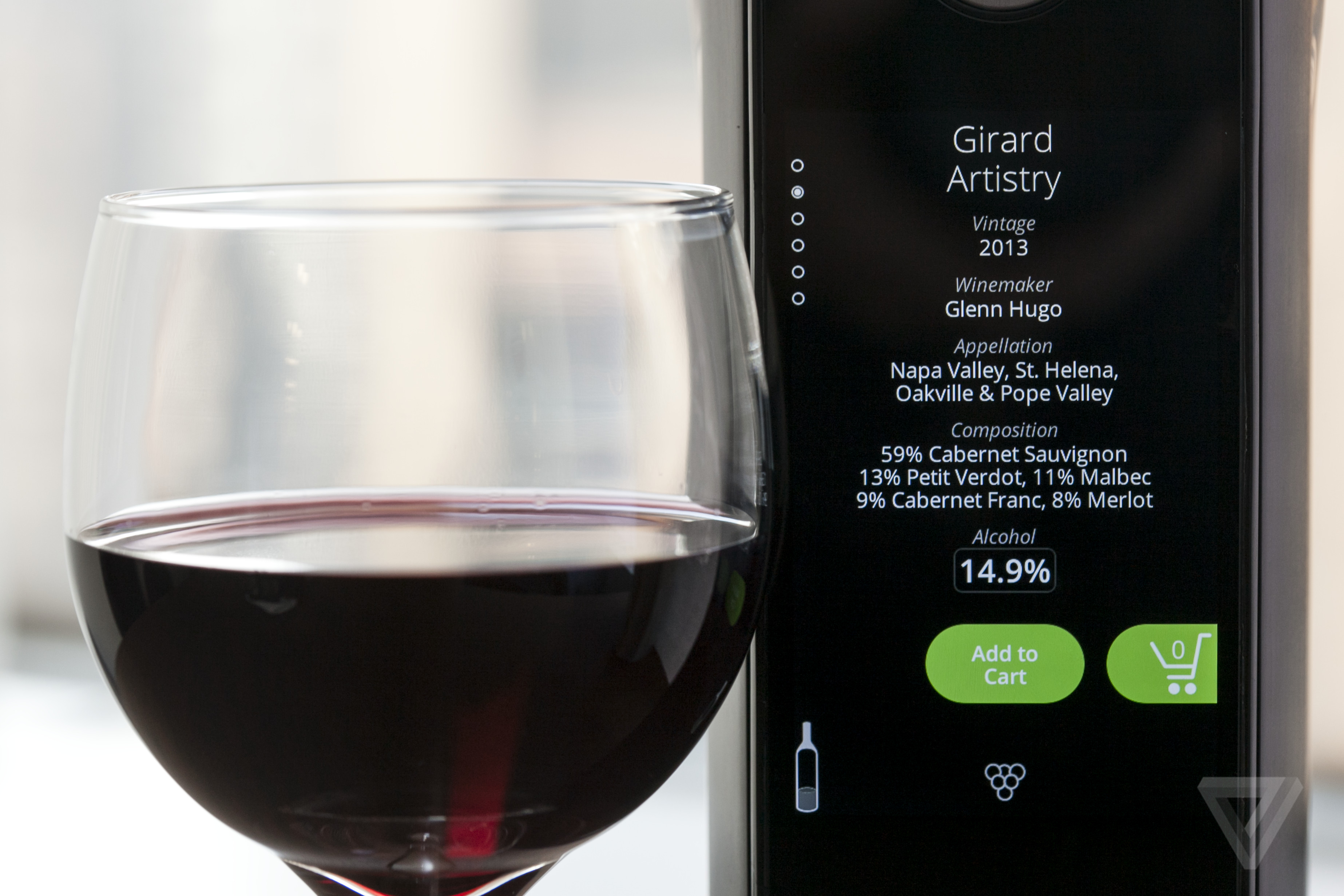 Kuv e is trying to reinvent wine with a ridiculous wi fi for How to preserve wine after opening bottle