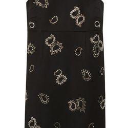 Danni Dress in kid mohair tuxedo wool, $3,300